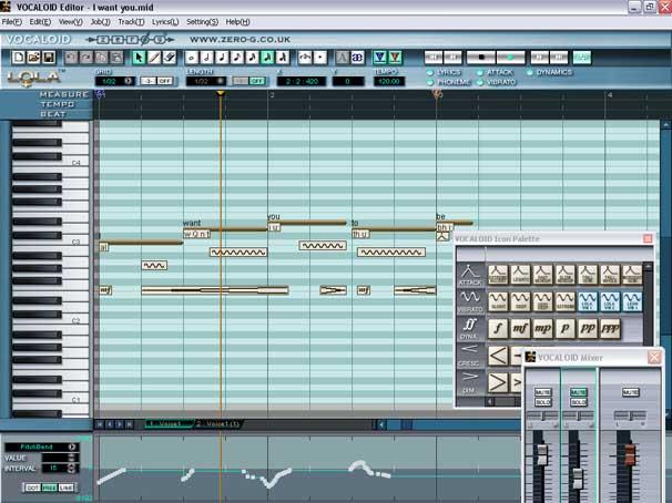 Vocaloid 3 голосовые библиотеки
